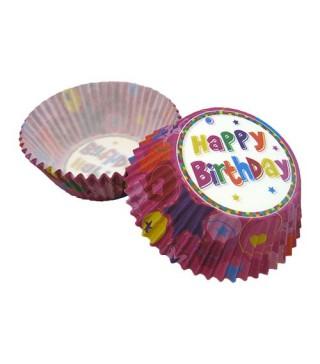 Формы для выпечки маффинов Happy Birthday 25 шт/уп
