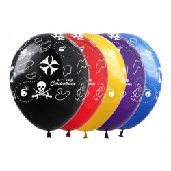 Набір кульок Карта пірата 5 шт/уп