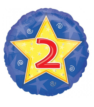 Кулька кругла Цифра 2