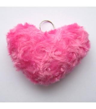 Брелок Сердце красное/розовое