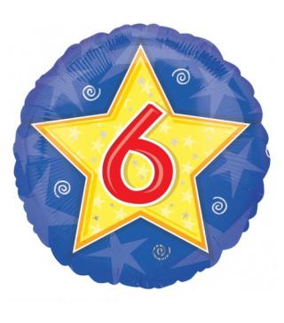 Кулька кругла Цифра 6