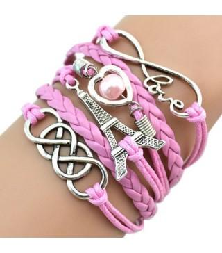 Браслет рожевий