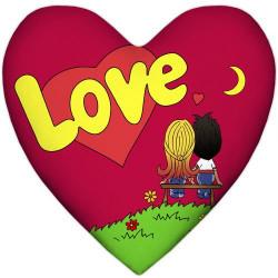Подушка Серце Love Іs