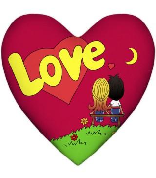Подушка Сердце Love Is