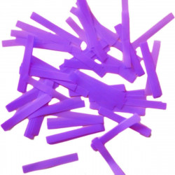 Конфеті смужки фіолетове