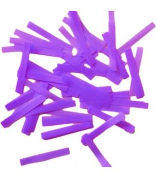 Конфетти полоски фиолетовое