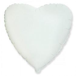 Шарик Сердце белое