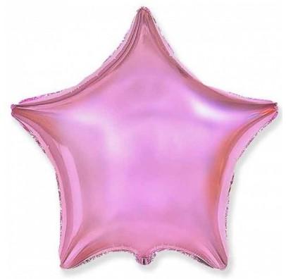 Шарик Звезда светло-розовая