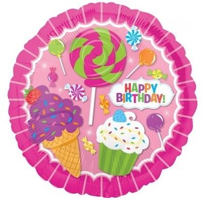 Кулька Солодощі Happy Birthday