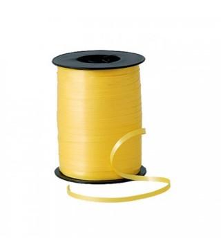 Лента для воздушных шаров желтая 1шт