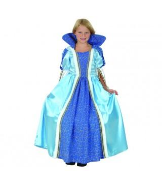 Костюм Принцесса голубой