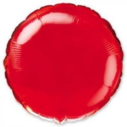 Кулька кругла червона