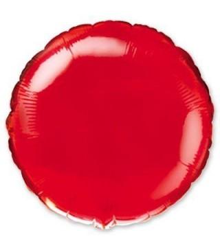 Шарик круглый красный