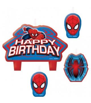 Свічки на торт Спайдермен