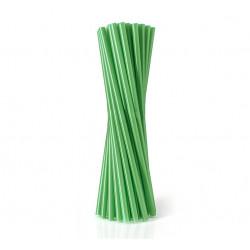 Трубочки для коктейлю зелені 25 шт/уп