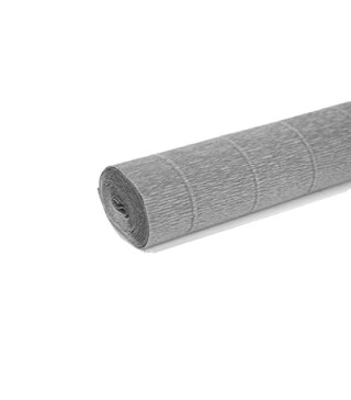 Креп-папір сірий 50х250 см