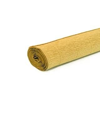 Креп-бумага золотая 50х250 см