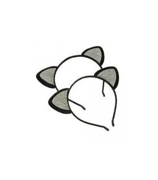 Ушки Кота с камешками ассорти
