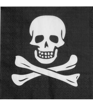 Серветки Череп пірата