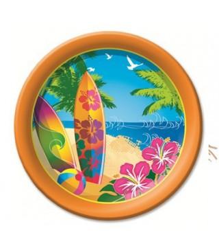 Тарілки Гаваї 18см 6 шт/уп