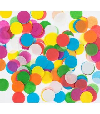 Конфеті кружечки кольорові