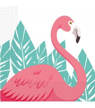 Салфетки Фламинго 20 шт/уп
