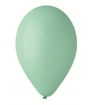 """Кульки аквамарин 10""""(26см) пастель 100шт/уп"""