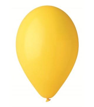 """Шарики лимон 10""""(26см) пастель 100шт/уп"""