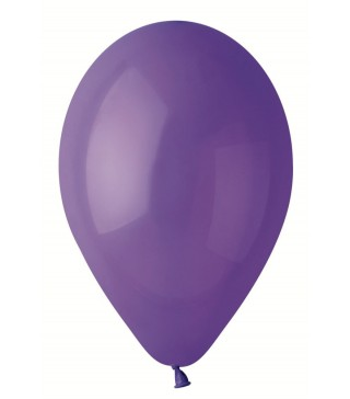 Шарики фиолетовые 26см 100 шт/уп