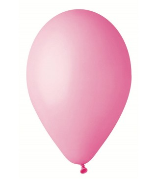 Кульки рожеві 26см 100 шт/уп