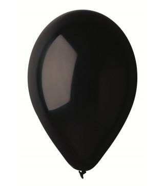 """Шарики черные 10 """"(26см) 100 шт/уп"""