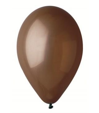 """Кульки коричневі 10""""(26см) 100шт/уп"""