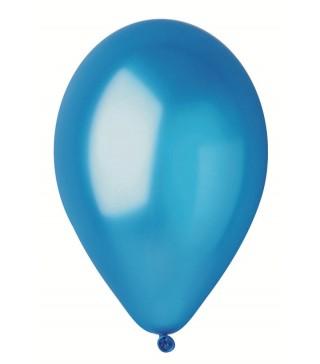 """Кулька світло-синя 10""""(26см) металік 1шт"""