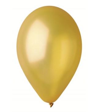 """Кульки золото 10""""(26см) металік 100шт/уп"""