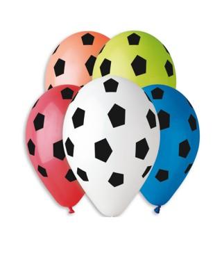 Набір кульок Футбол асорті 5шт/уп.
