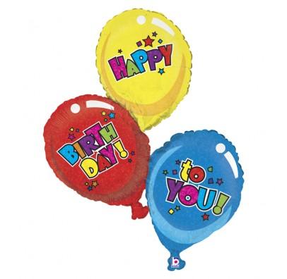 Кулька фольгована Три кульки