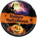Тарелки Happy Halloween 6шт/уп