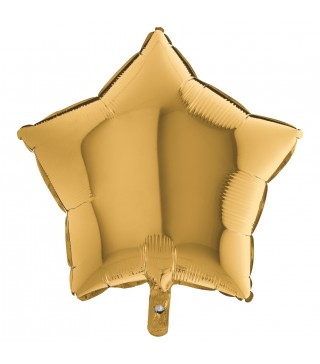 Кулька фольгована Зірка золото