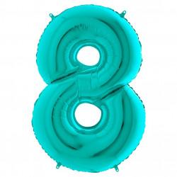 Кулька-цифра 8 бірюза