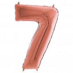Кулька-цифра 7 червоне золото