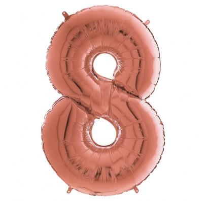 Кулька-цифра 8 червоне золото