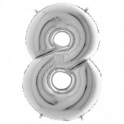 Кулька-цифра 8 срібло