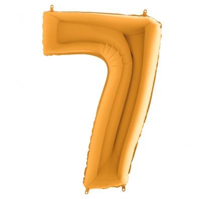 Кулька-цифра 7 золото