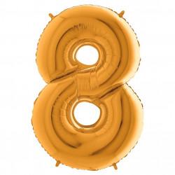 Кулька-цифра 8 золото