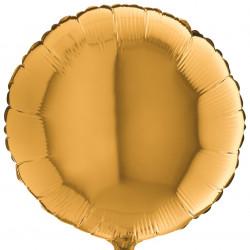 Кулька фольгована Кругла золота