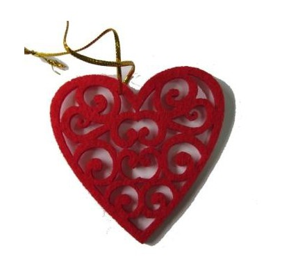 Декор Серце ажурне