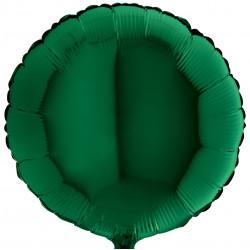 Кулька фольгована Кругла зелена
