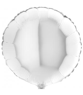Кулька фольгована Кругла біла