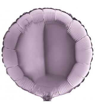 Шарик фольгированный Круглый лиловый