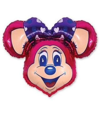 Кулька фольгована фігурна Мишка Лоллі